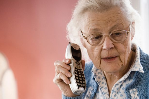 Phone scams and Seniors