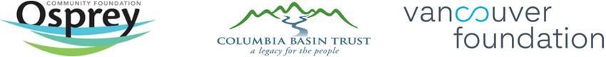 Osprey, CBT and Vancouver Foundation logo
