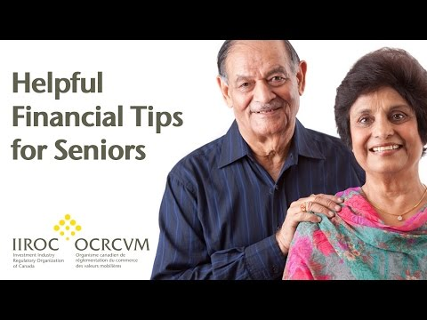 Helpful financial tips for seniors