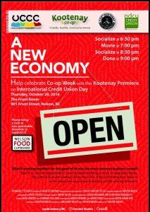 New Economy Poster